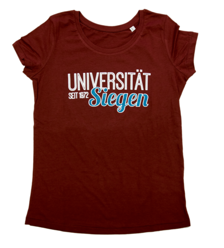 Girlie T-Shirt College burgundy