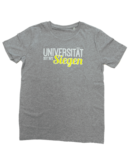 T-Shirt College grau