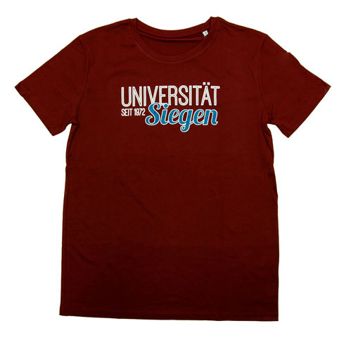 T-Shirt College burgundy